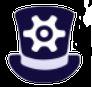 The Pamalogy Hat with Sprocket Logo