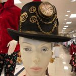 A mannequin wearing a Pamalogy thinking cap means awesomeness is upon you.
